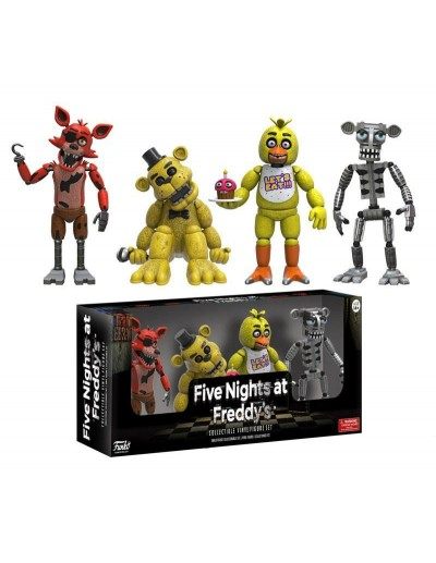 FIVE NIGHTS AT FREDDY´S PACK 4 FIGURAS SET 1