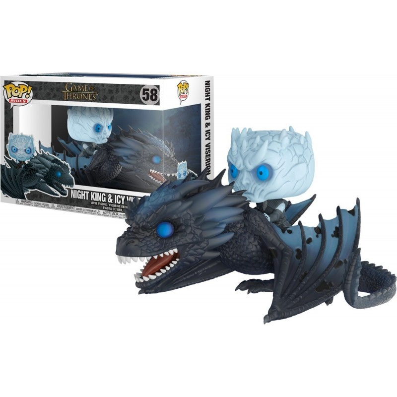 Game Of Thrones The Night King 1 10 Scale: THE NIGHT KING & VISERION