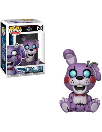 POP! GAMES FIVE NIGHTS AT FREDDY'S - TWISTED THEODORE