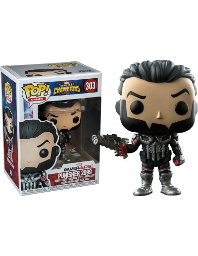 POP! MARVEL CONTEST OF CHAMPIONS - PUNISHER 2099 (Exclusivo)
