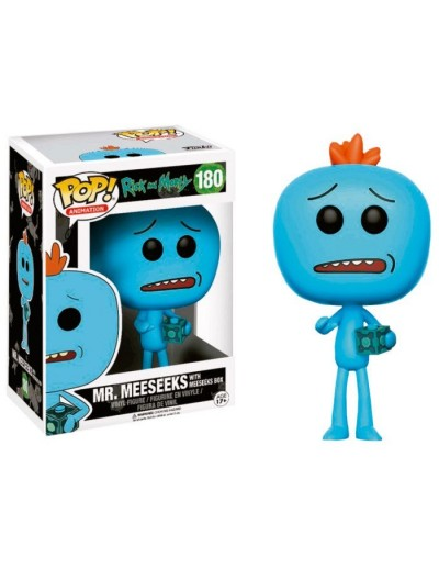 POP! ANIMATION: RICK Y MORTY - MR MEESEEKS