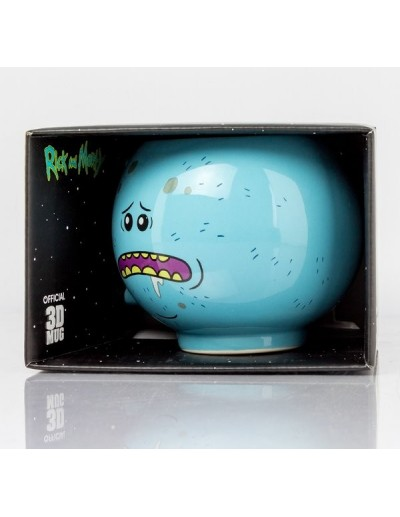 TAZA 3D RICK AND MORTY - MR MEESEEKS