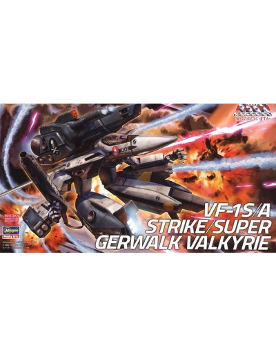 VF-1S/A STRIKE SUPER GERWALK VALKYRIE 1/72