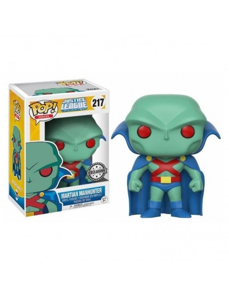 POP! JUSTICE LEAGUE - MARTIAN MANHUNTER (Exclusive)