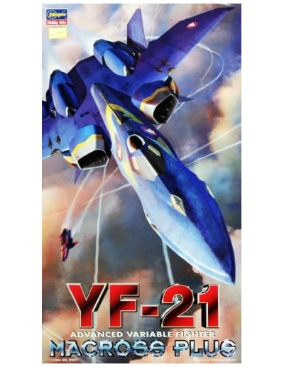 1/72 MACROSS PLUS YF-21 FIGHTER