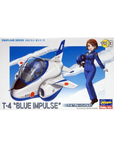 EGGPLANE SERIES T-4 BLUE IMPULSE