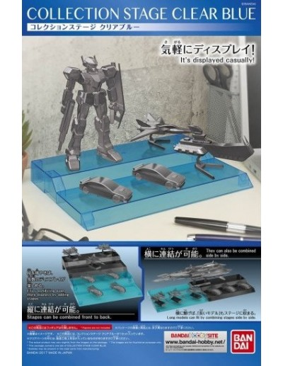 COLLECTION STAGE CLEAR BLUE - EXPOSITOR