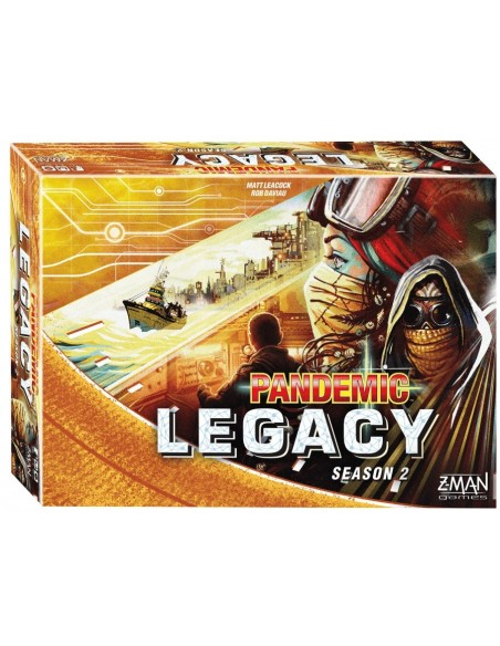 PANDEMIC LEGACY SEASON 2 YELLOW (INGLÉS)