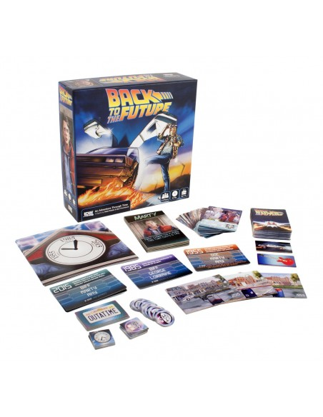 BACK TO THE FUTURE AN ADVENTURE TROUGH TIME (INGLES)