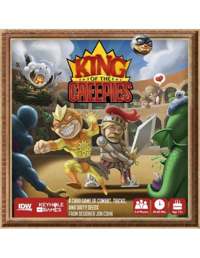 KING OF THE CREEPIES (INGLÉS)