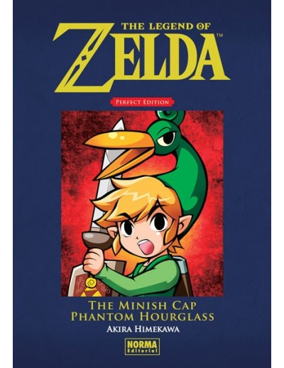 THE LEGEND OF ZELDA PERFECT EDITION  THE MINISH CAP Y PHANTOM HOURGLASS