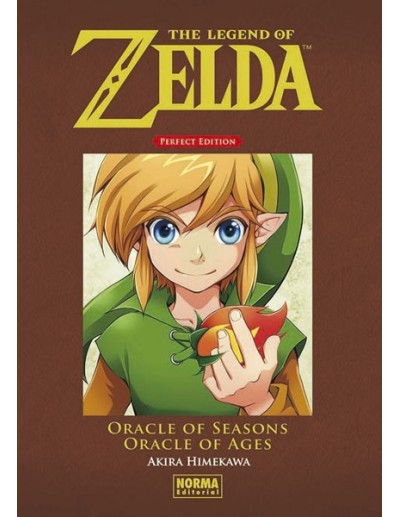 THE LEGEND OF ZELDA PERFECT EDITION ORACLE OF SEASONS Y ORACLE OF AGES