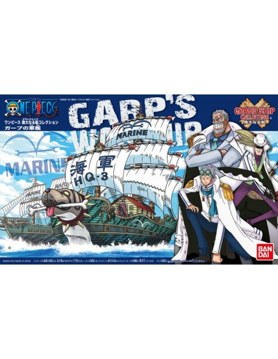 ONE PIECE GRAND SHIP COLLECTION GARP´S WARSHIP