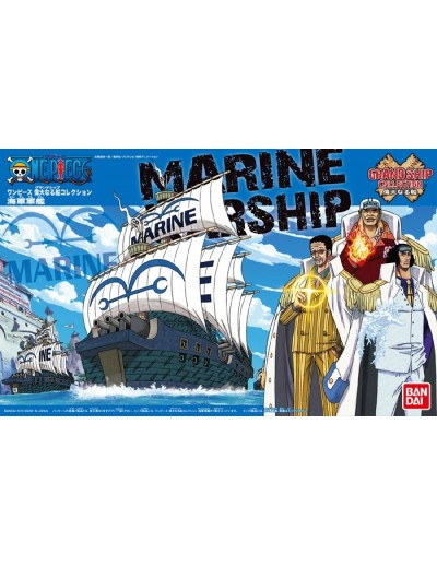 ONE PIECE GRAND SHIP COLLECTION MARINE WARSHIP