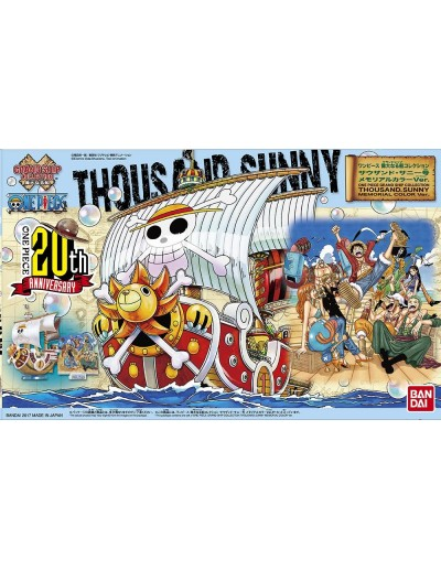 ONE PIECE GRAND SHIP COLLECTION THOUSAND SUNNY MEMORIAL COLOR VER.