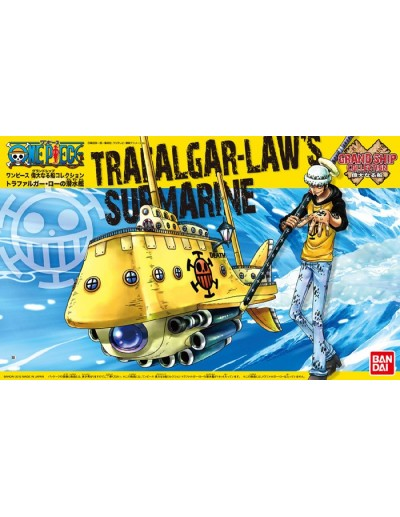 ONE PIECE GRAND SHIP COLLECTION TRAFALGAR-LAW´S SUBMARINE