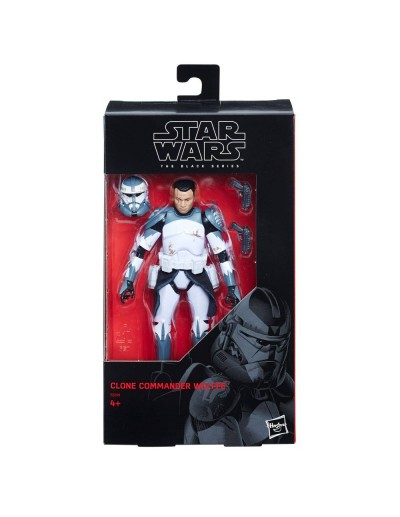 STAR WARS CLONE COMMANDER WOLFFE 2018 Excl.. BLACK SERIES