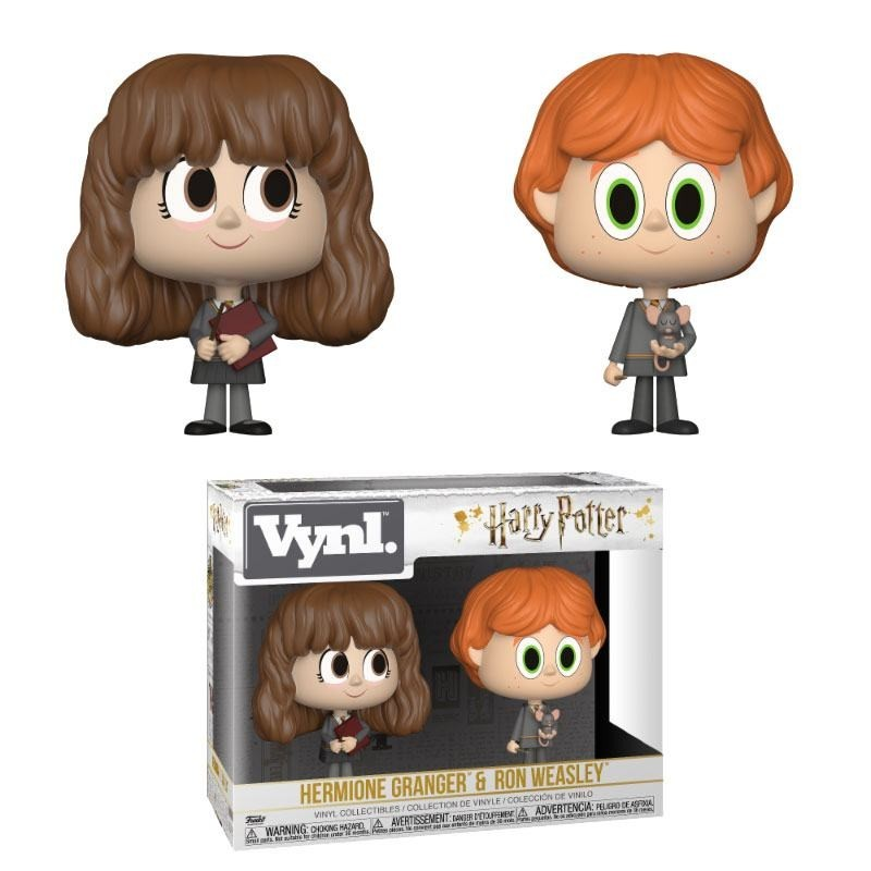 VYNL HARRY POTTER HERMIONE GRANGER AND RON WEASLEY