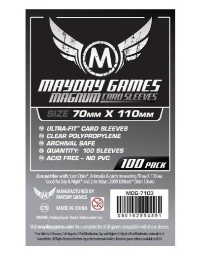 MAYDAY GAMES FUNDAS MAGNUM 70x110 MM