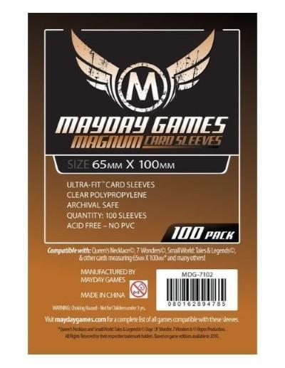 MAYDAY GAMES FUNDAS MAGNUM 65x100 MM