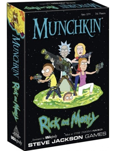 MUNCHKIN RICK AND MORTY (INGLES)