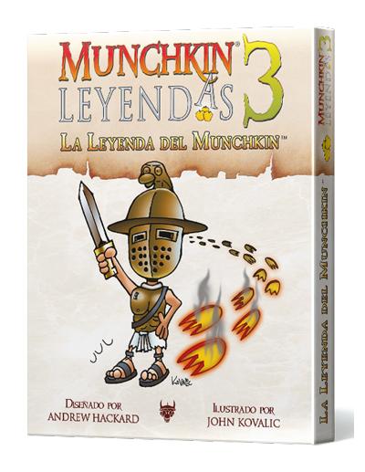 MUNCHKIN LEYENDAS 3 - LA LEYENDA DEL MUNCHKIN