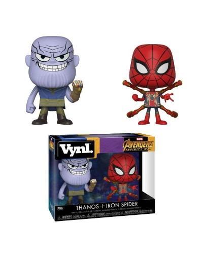 VYNL INFINITY WAR - THANOS & IRON SPIDER