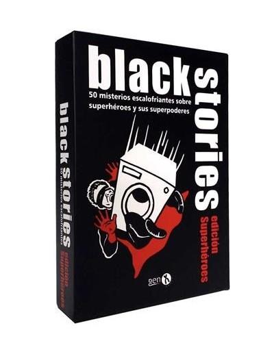 BLACK STORIES EDICIÓN SUPERHÉROES