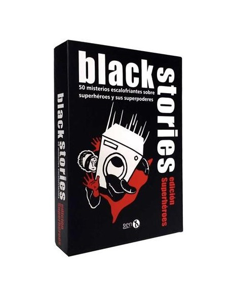 BLACK STORIES EDICIÓN SUPERHÉROES