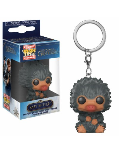 POCKET POP! LLAVERO FANTASTIC BEAST 2 - BABY NIFFLER (Grey)