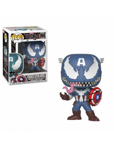 POP! MARVEL VENOM - VENOMIZED CAPTAIN AMERICA