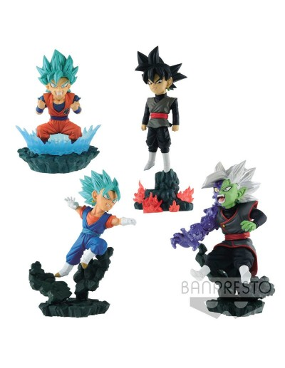DRAGON BALL SUPER WORLD DIORAMA - FIGURA CHIBI VOL 1