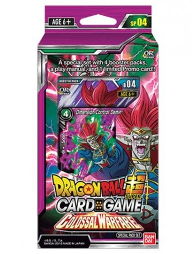 DRAGON BALL SUPER CARD GAME - COLOSSAL WARFARE SPECIAL PACK