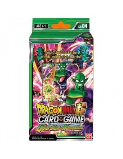 DRAGON BALL SUPER CARD GAME - THE GUARDIAN OF NAMEKIANS STARTER DECK