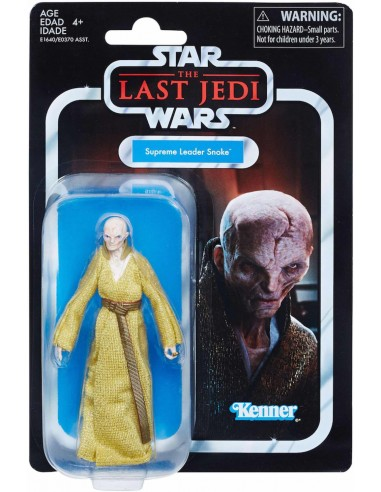 STAR WARS SUPREME LIDER SNOKE VINTAGE COLLECTION
