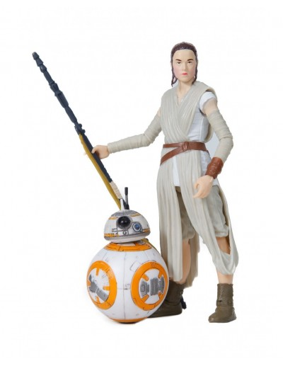 STAR WARS THE BLACK SERIES - REY (JAKKU) Y BB-8
