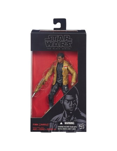 STAR WARS THE BLACK SERIES - FINN (JAKKU)