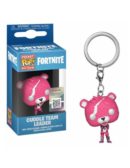 POCKET POP! LLAVERO FORTNITE - CUDDLE TEAM LEADER