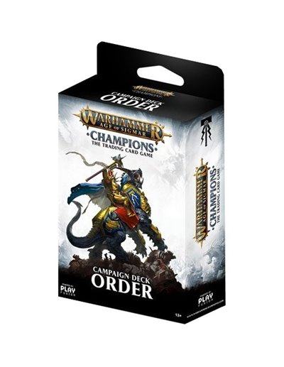 WARHAMMER AGE OF SIGMAR CHAMPIIONS WAVE 01 CAMPAIGN DECK ORDER