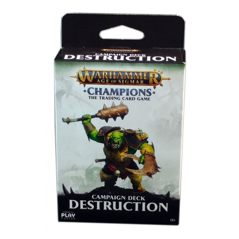 WARHAMMER AGE OF SIGMAR CHAMPIIONS WAVE 01 CAMPAIGN DECK DESTRUCTION