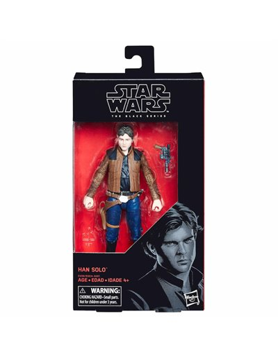 STAR WARS THE BLACK SERIES - HAN SOLO