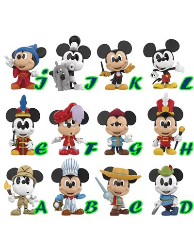 FUNKO VINYL MINIS DISNEY MICKEY´S 90 th