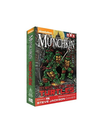 MUNCHKIN TEENAGE MUTANT NINJA TURTLES (INGLÉS)