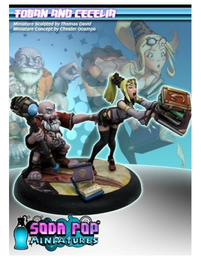 Soda Pop Miniatures: Togan...