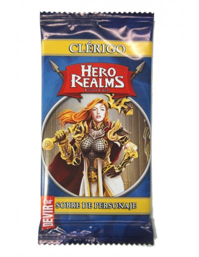 HERO REALMS: CLÉRIGO SOBRE...