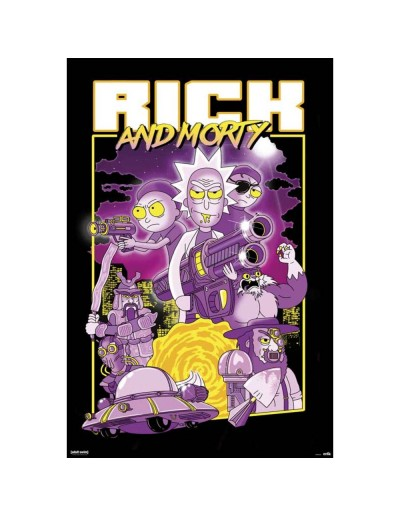 Rick & Morty Póster Morty...