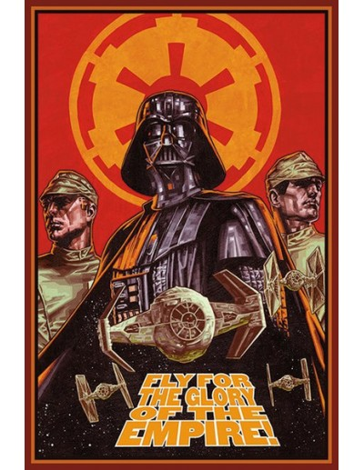 """Star Wars Póster """"Fly For..."""