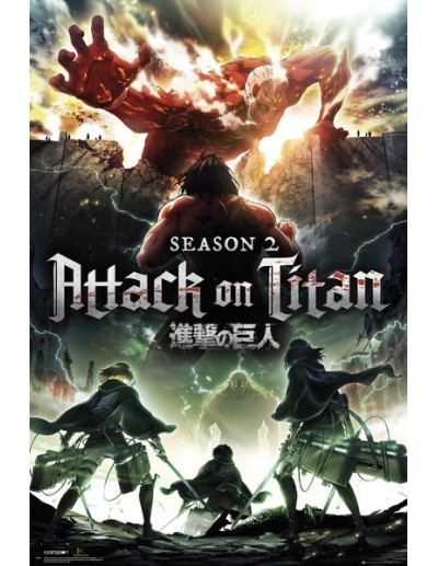 Poster Attack on Titan...