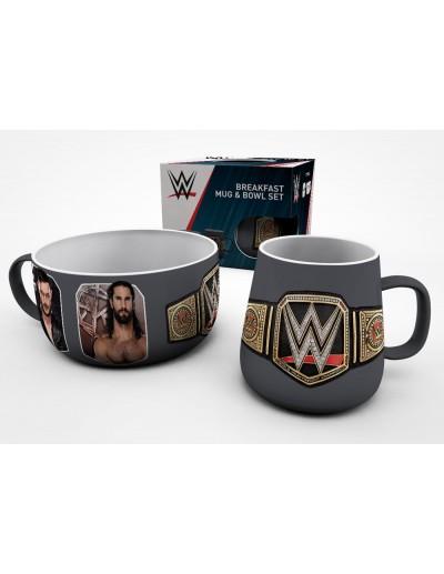 WWE Conjunto para Desayuno