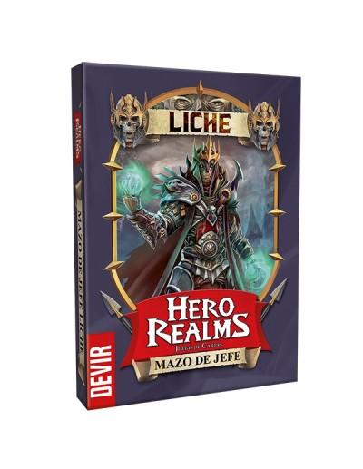 HERO REALMS: MAZO JEFE LICHE
